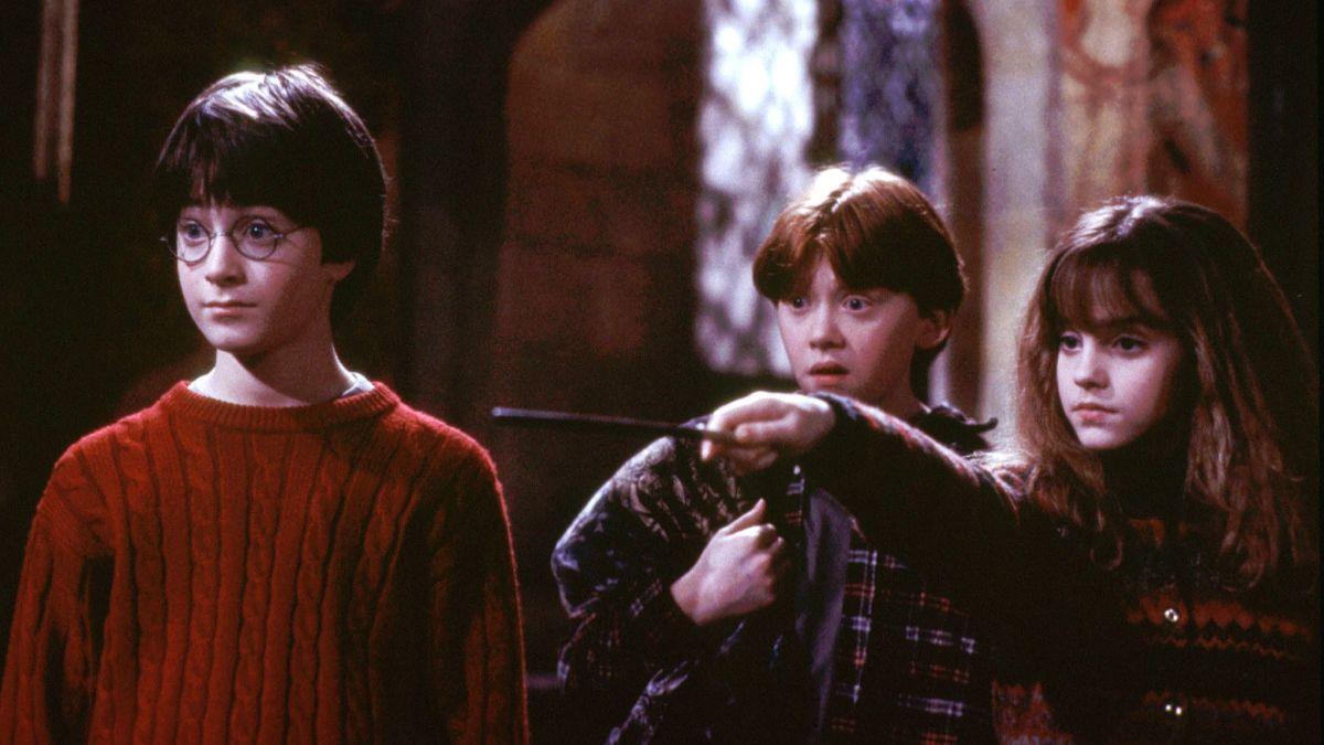 Záber z filmu Harry Potter a Kameň mudrcov