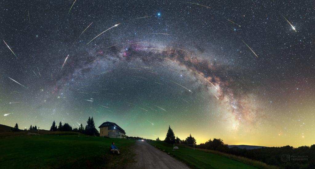 Záznam z noci maxima z roku 2016 z Parku tmavej oblohy Veľká Fatra
