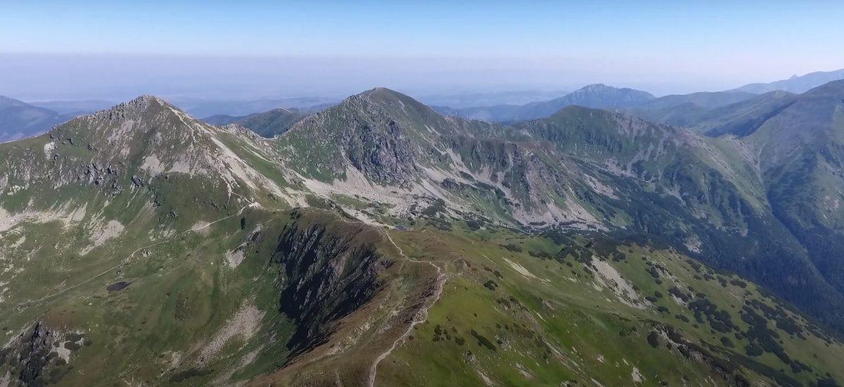 Baranec je tretím najvyšším vrchom Západných Tatier.