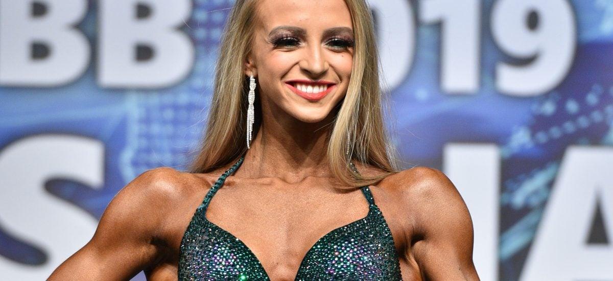 Janka Stachová patrí medzi naše najlepšie bikinifitnessky.