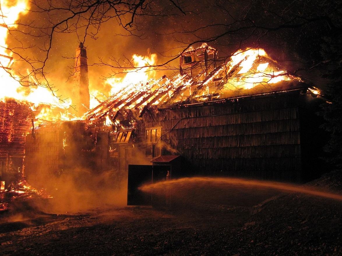 Požiar Libušína