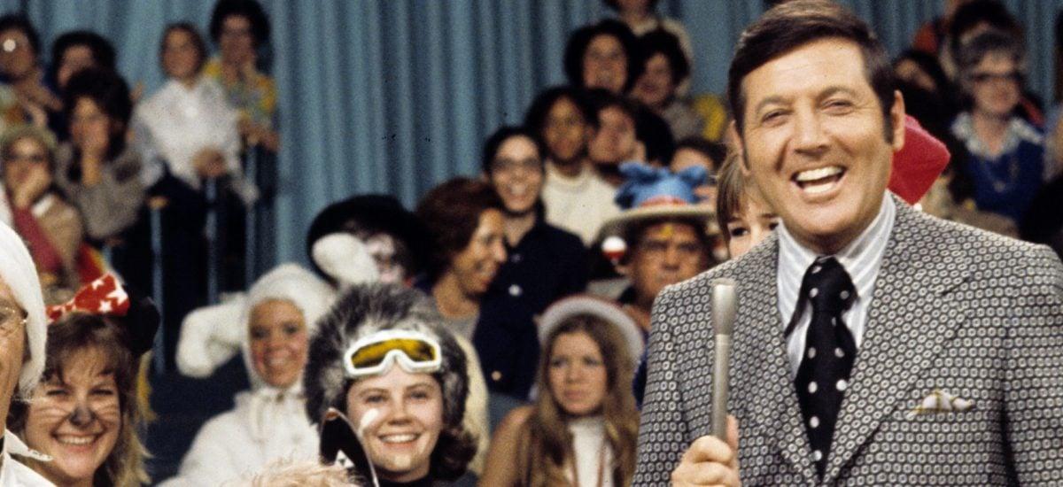 Monty Hall počas natáčania svojej show