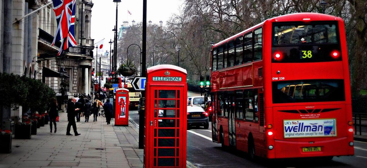 Pohľad na Londýn