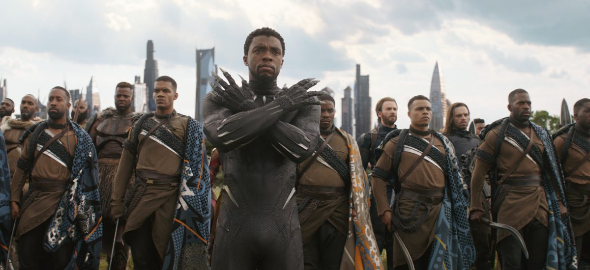 Chadwick Boseman ako Black Panther