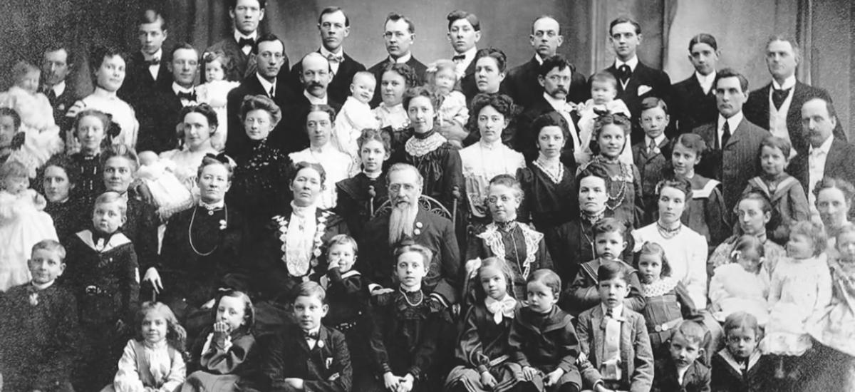 Rodina najplodnejšieho páru v histórií