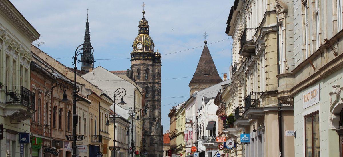 Pohľad na Košice