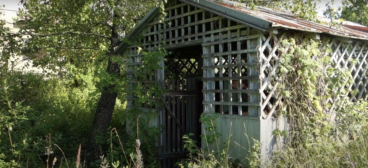 Záhradný domček ukrýva veľké tajomstvo