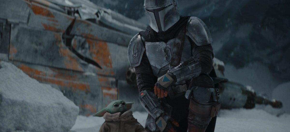 Záber zo seriálu The Mandalorian
