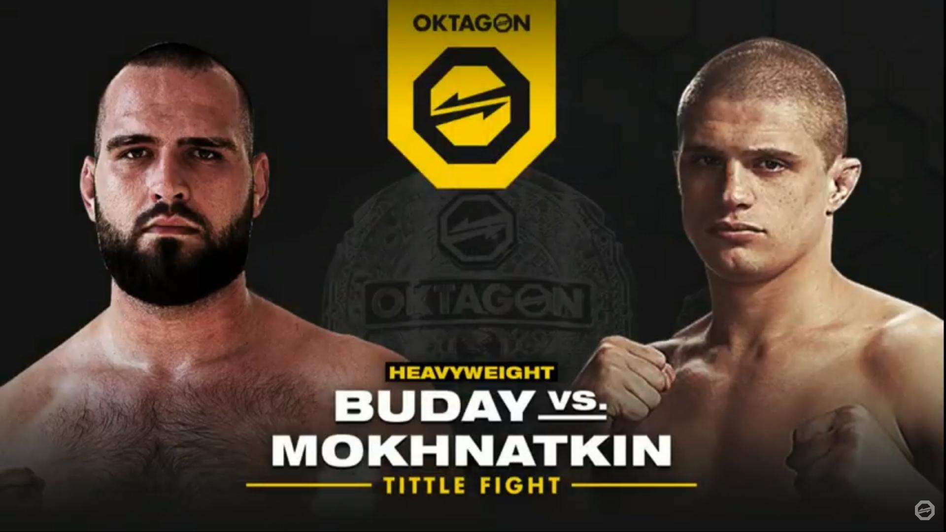 Zápas Buday vs. Mokhnatkin