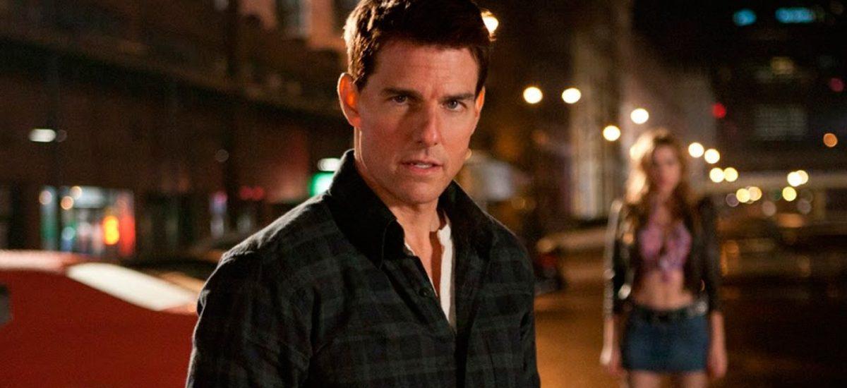 Tom Cruise vo filme Jack Reacher