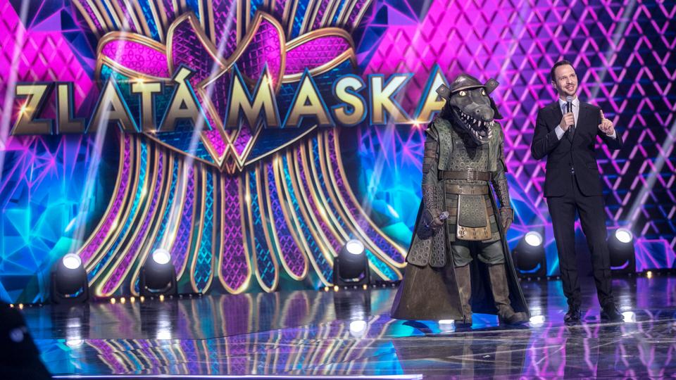 Záber zo show Zlatá maska