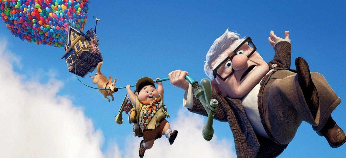 Záber z animovaného filmu Hore