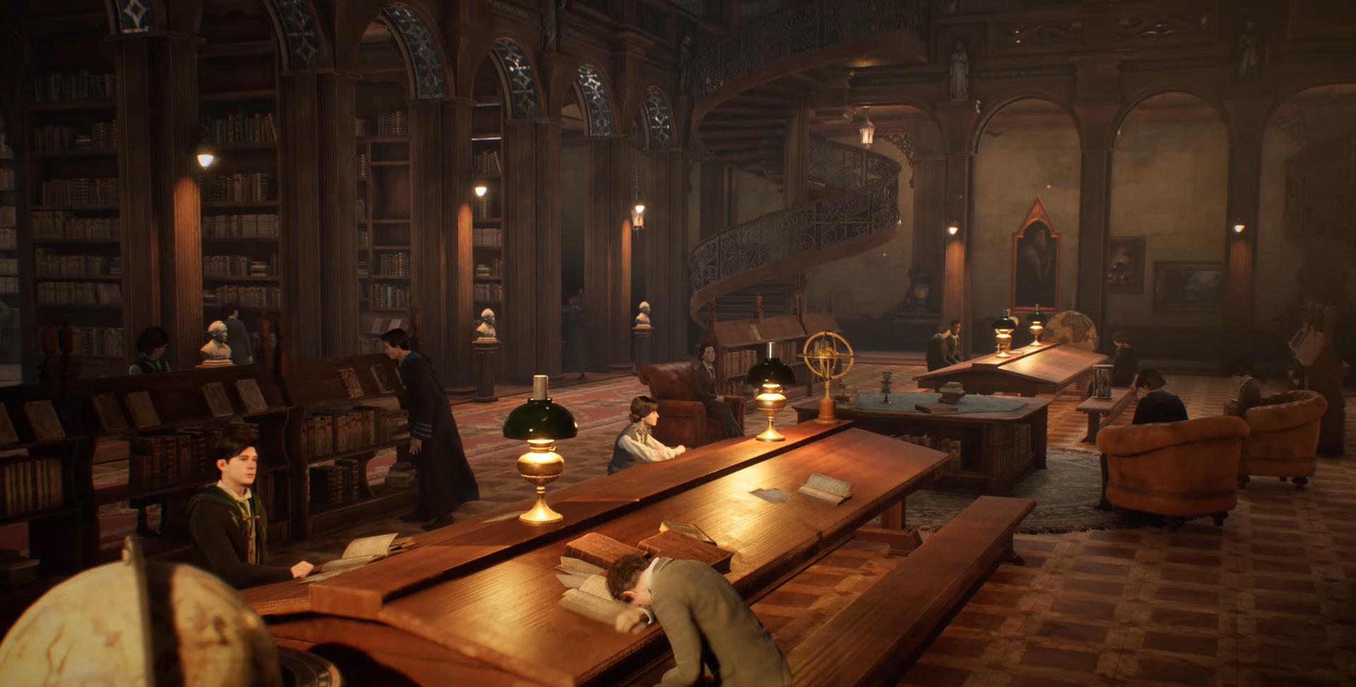 Záber z hry Hogwarts: Legacy
