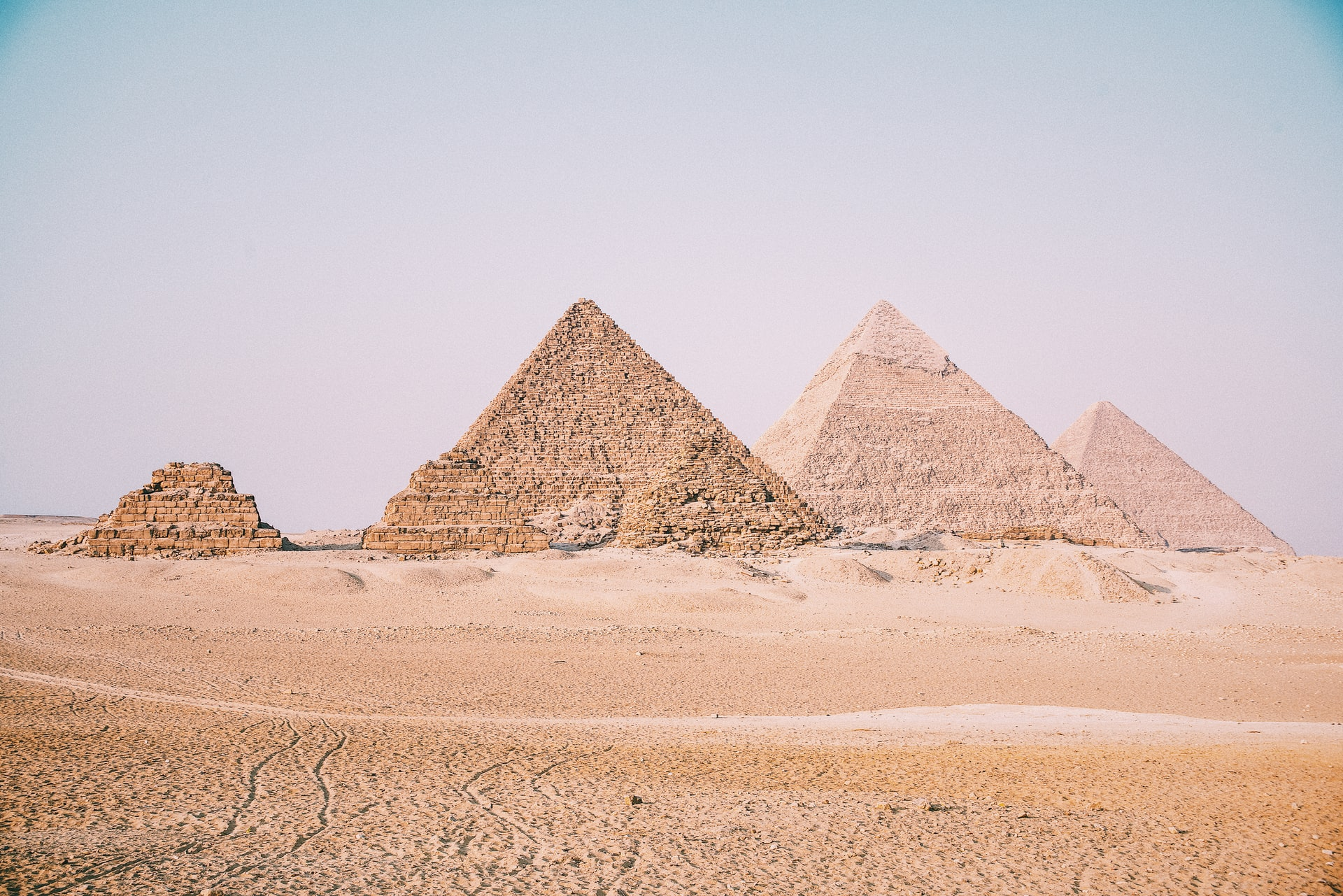 Egyptské pyramídy
