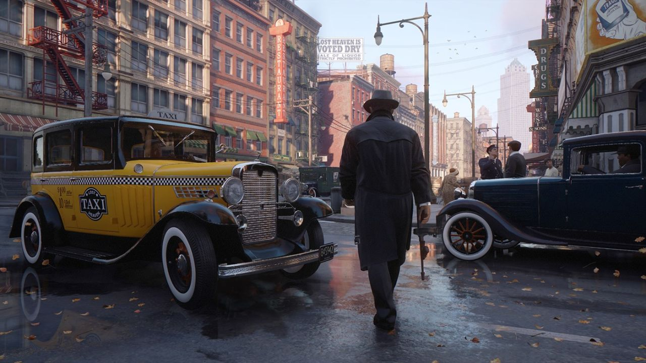 Záber z hry Mafia