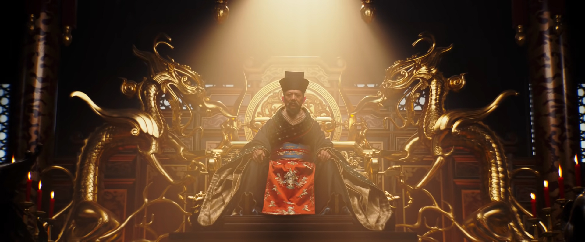 Záber z filmu Mulan