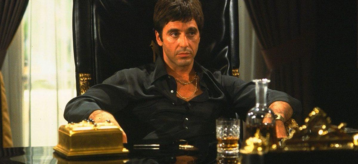 Al Pacino vo filme Scarface