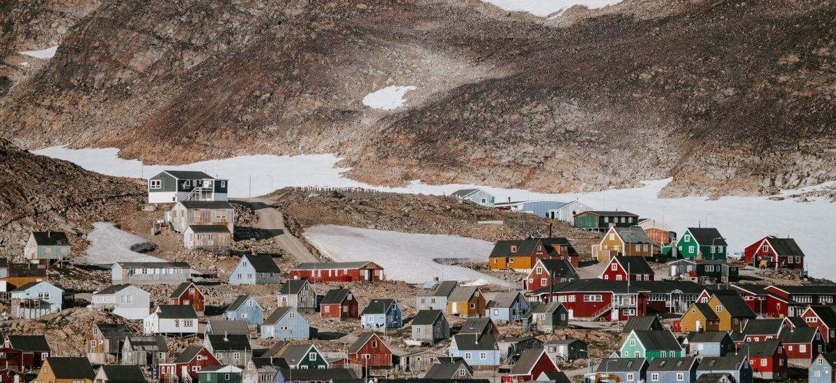 Farebné grónske domčeky