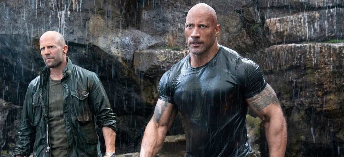 Jason Statham a The Rock