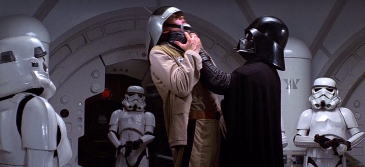 Scéna s Darthom Vaderom zo Star Wars