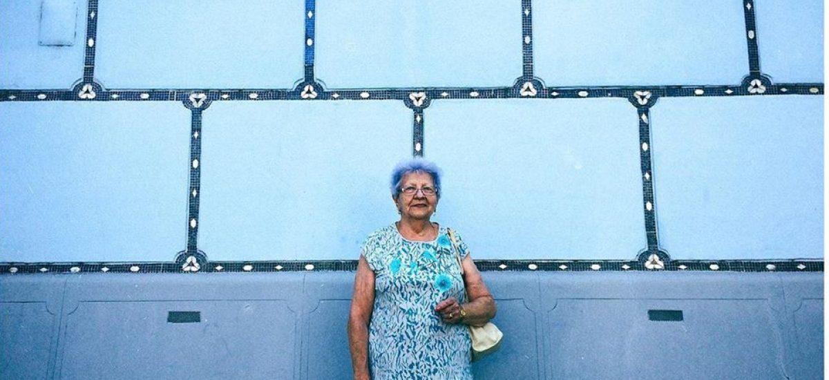 Blue Grandma