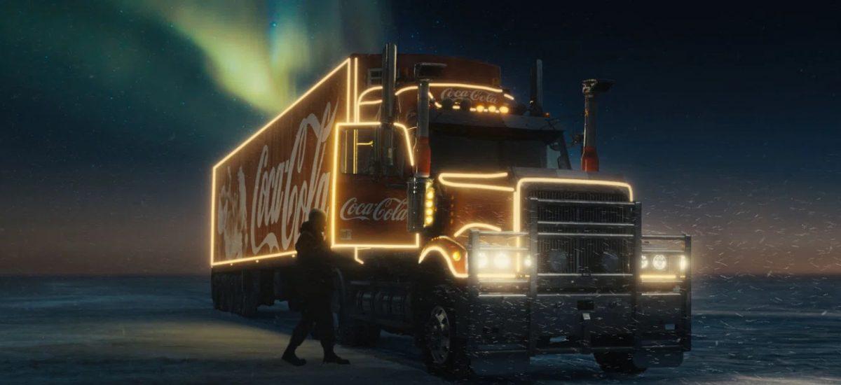 Slávny vianočný kamión spoločnosti Coca-Cola