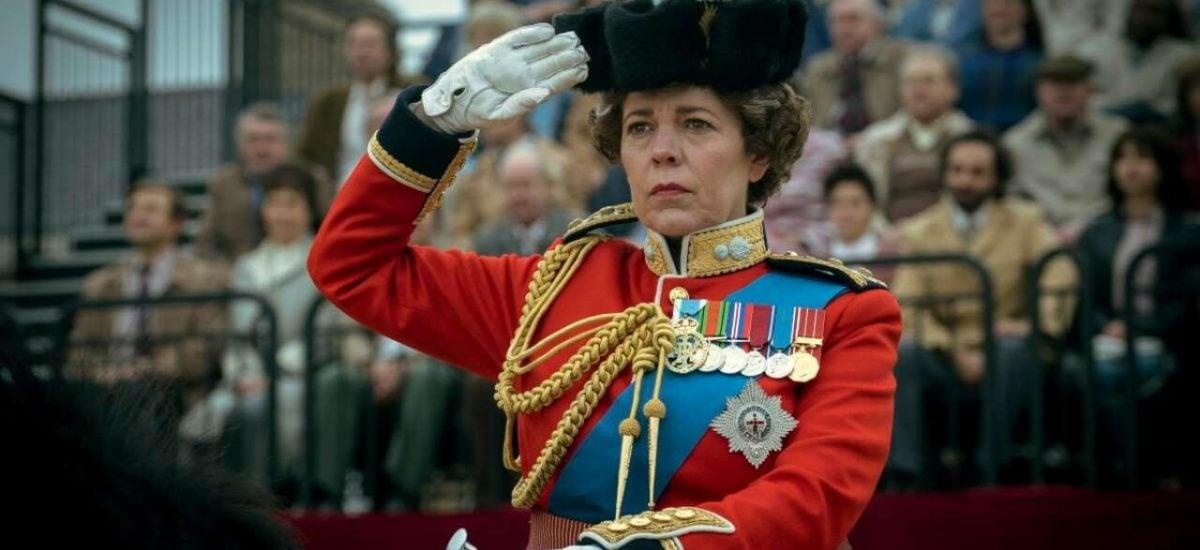 Záber zo seriálu The Crown