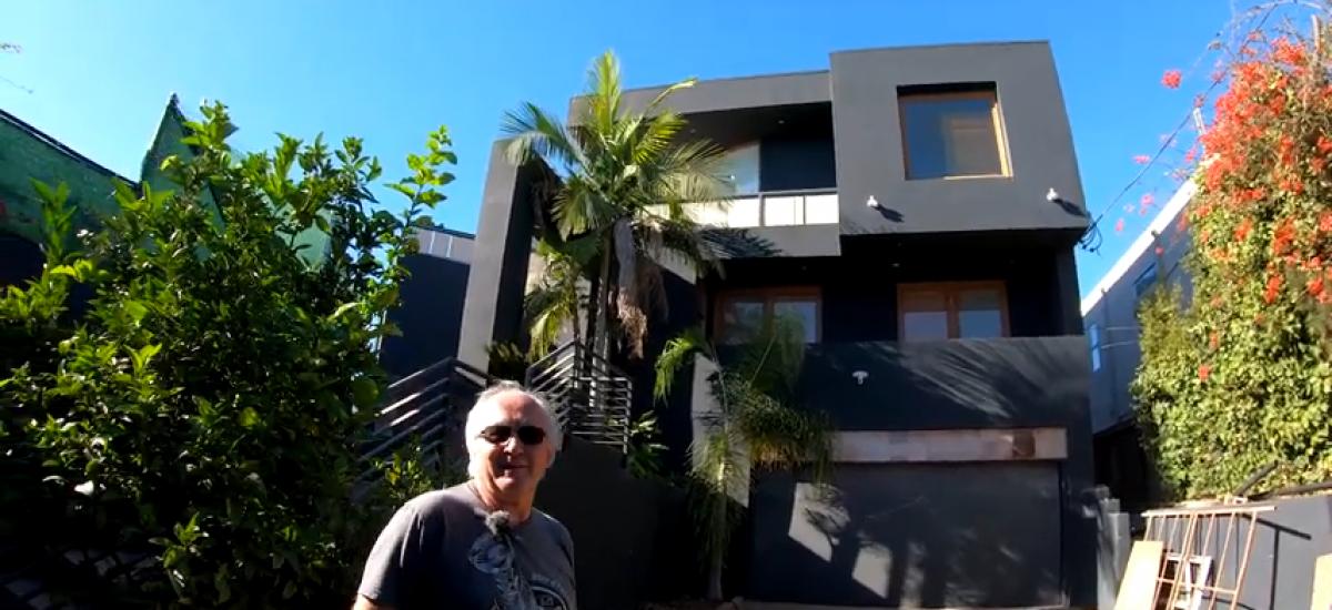 Jirka a dom v Malibu