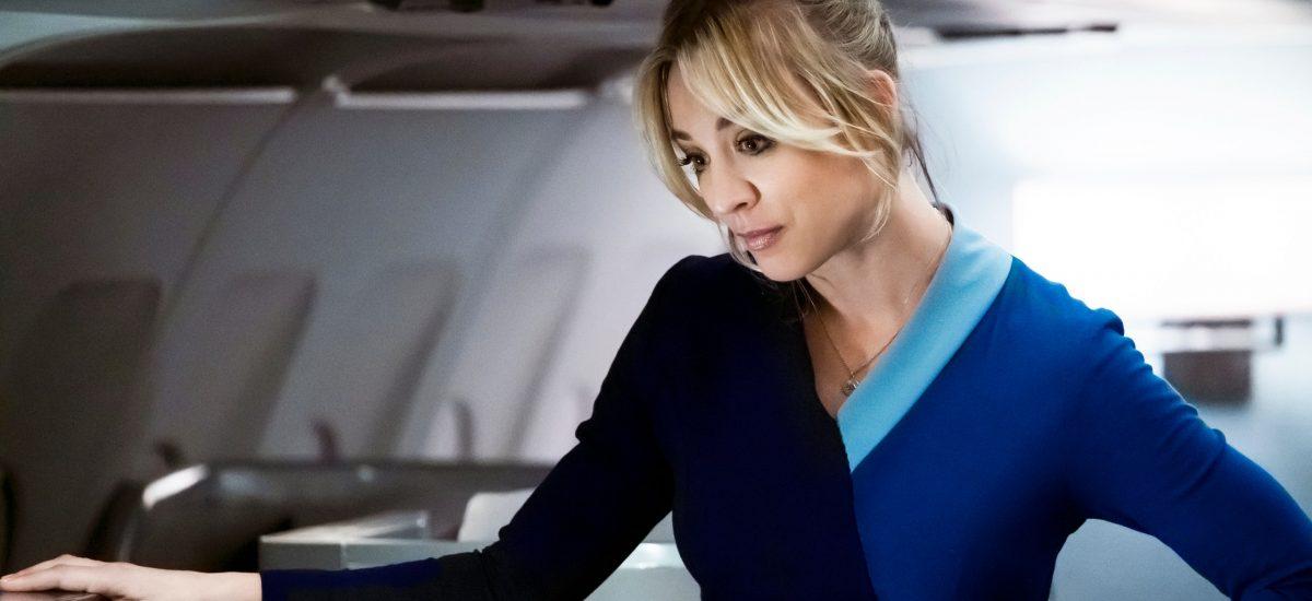 Kaley Cuoco v novom seriáli Letuška