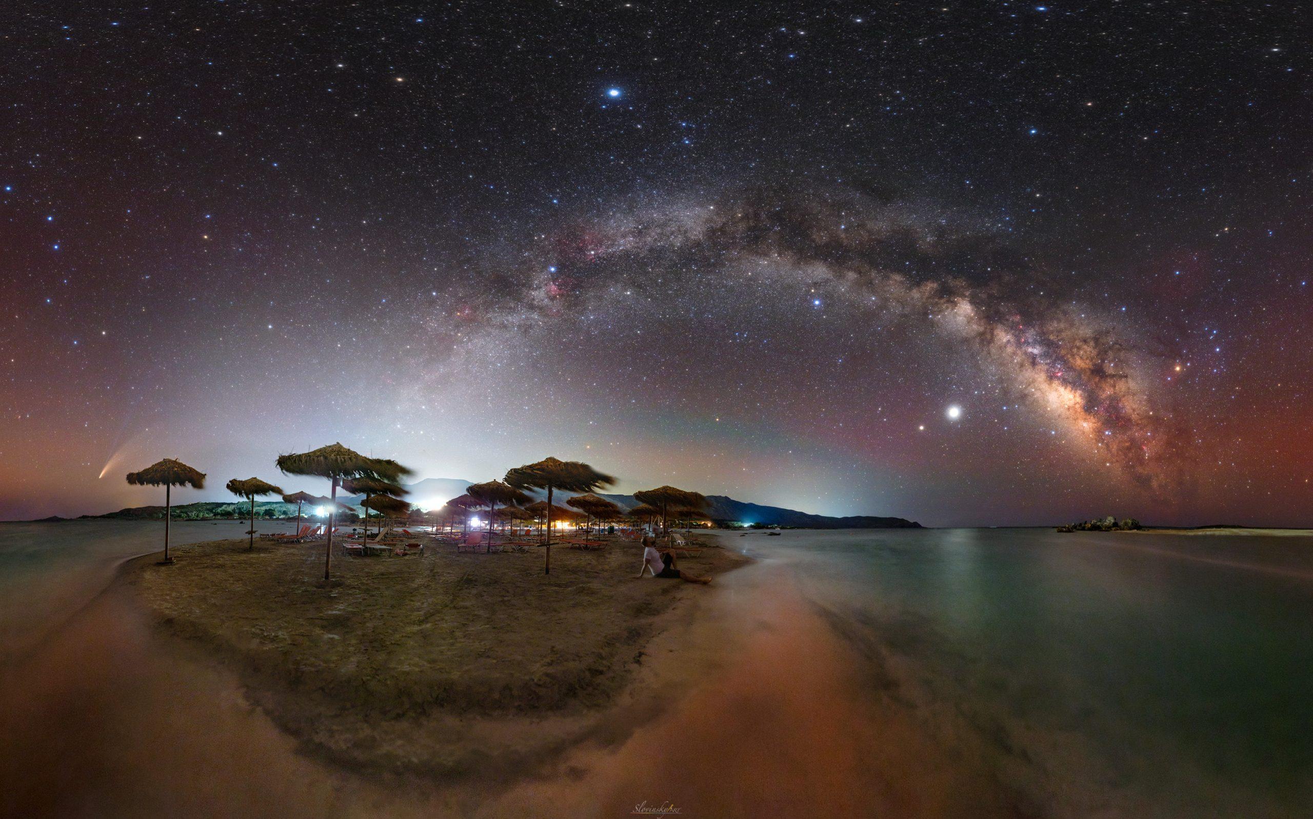 Snímka astrofotografa Tomáša Slovinského