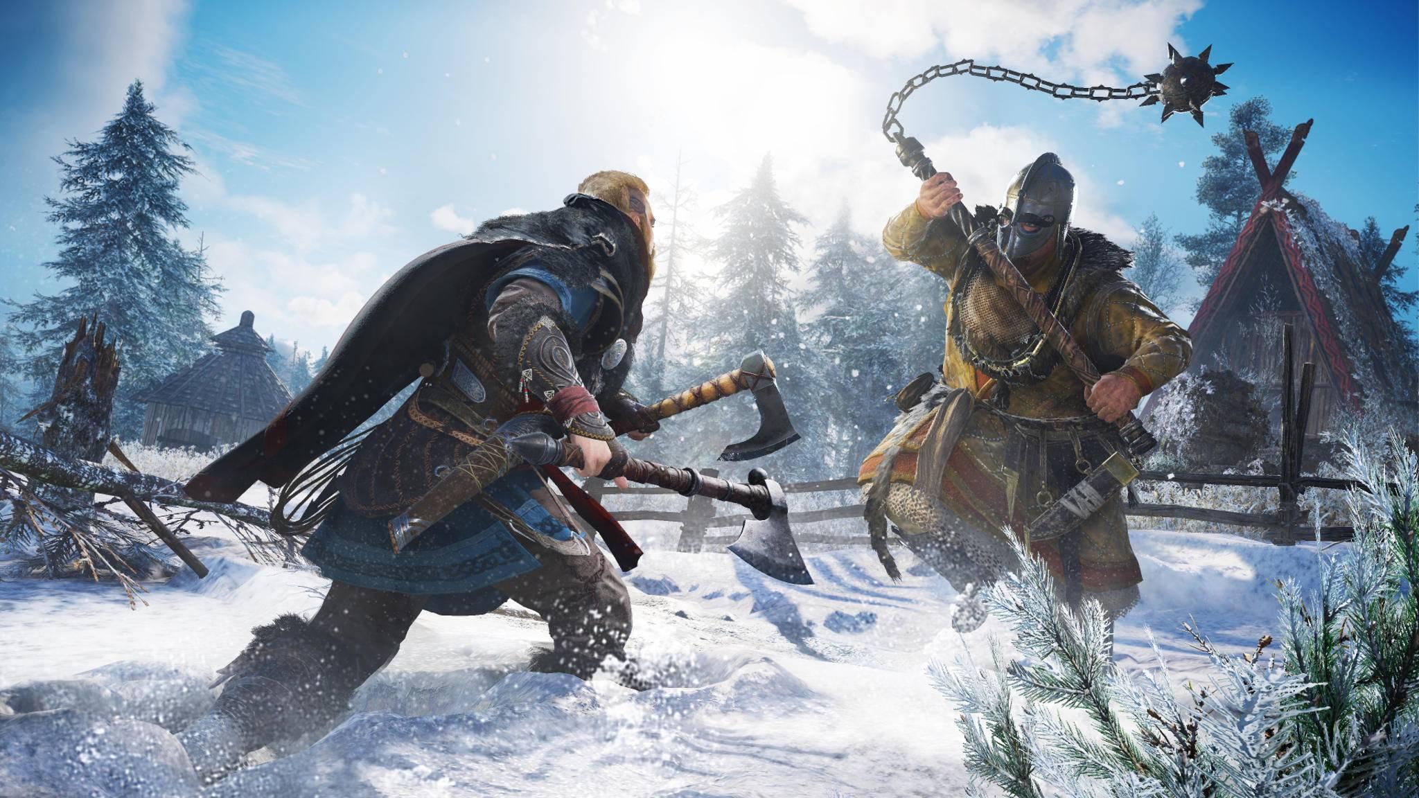 Zábery z hry Assassin's Creed: Valhalla