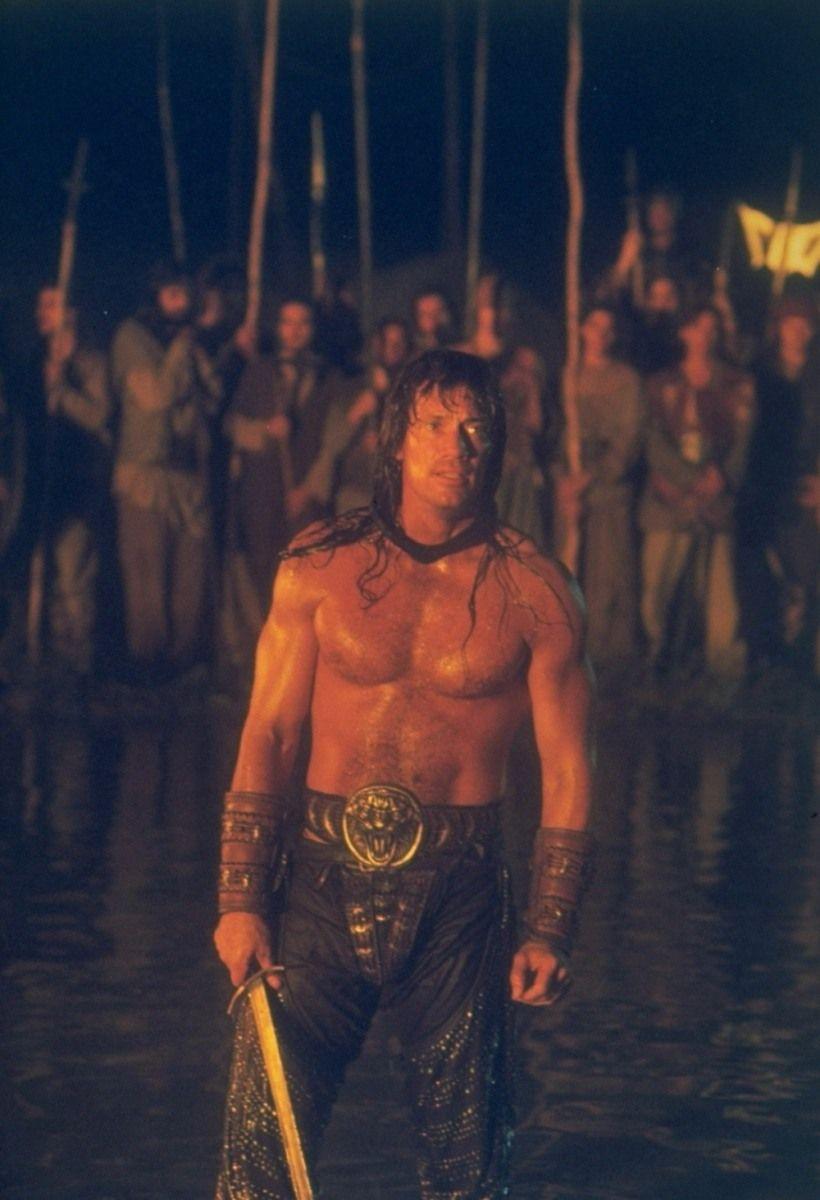 Záber z filmu Kull dobyvateľ