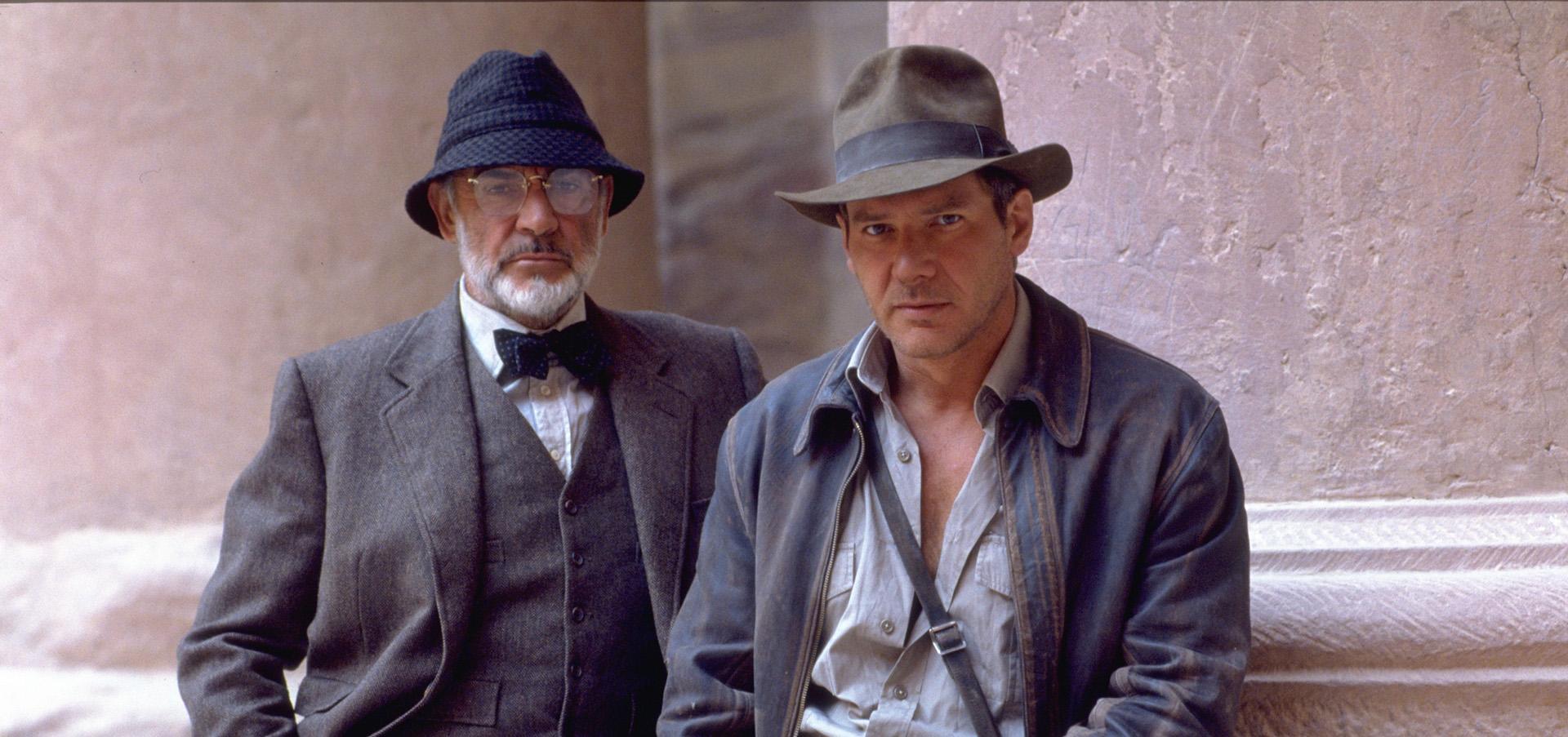Sean Connery vo filme Indiana Jones