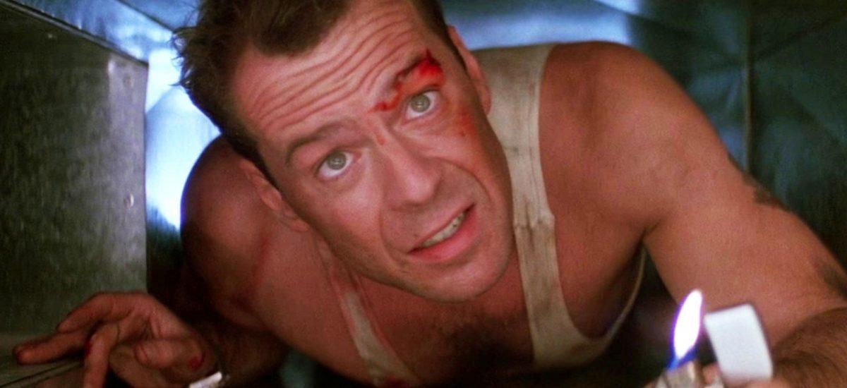 Bruce Willis vo filme Smrtonosná pasca