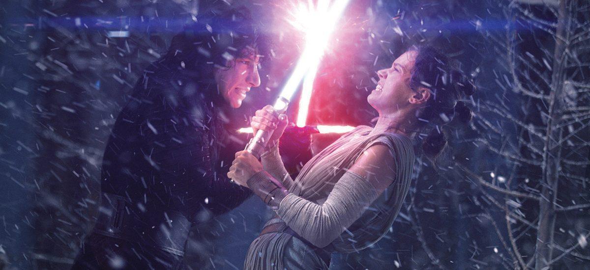Záber z filmu Star Wars: The Force Awakens