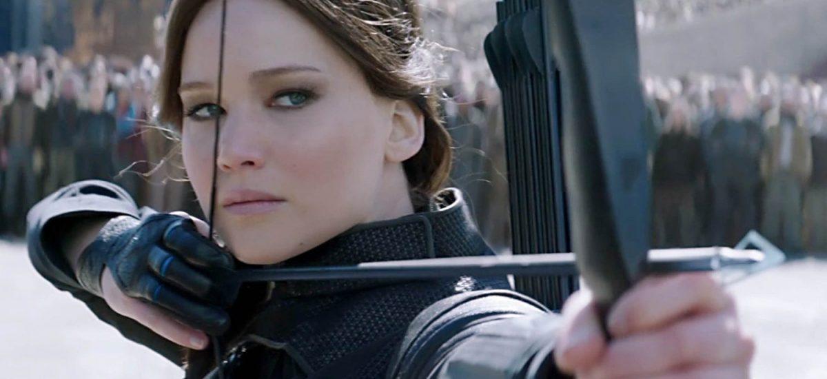 Katniss vo filme Hry o život