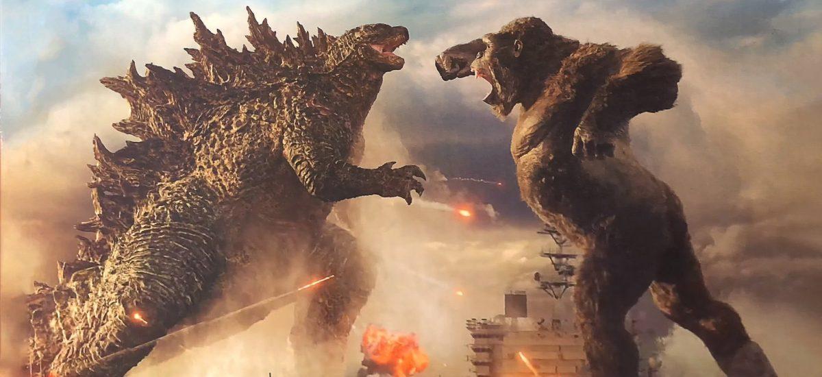 Záber z filmu Godzilla vs Kong