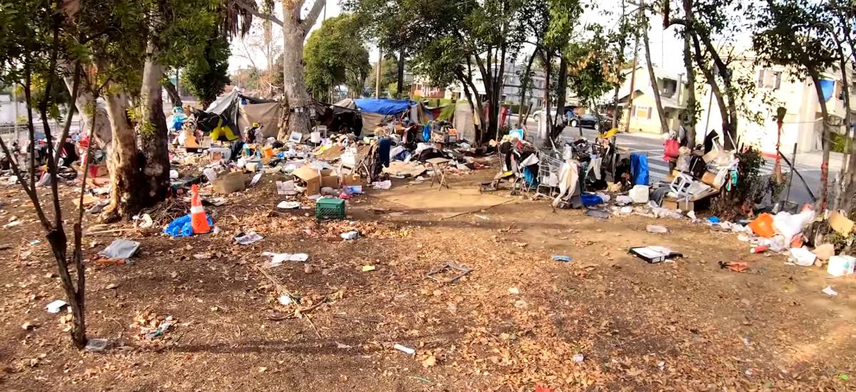 Odpadky v Echo Parku