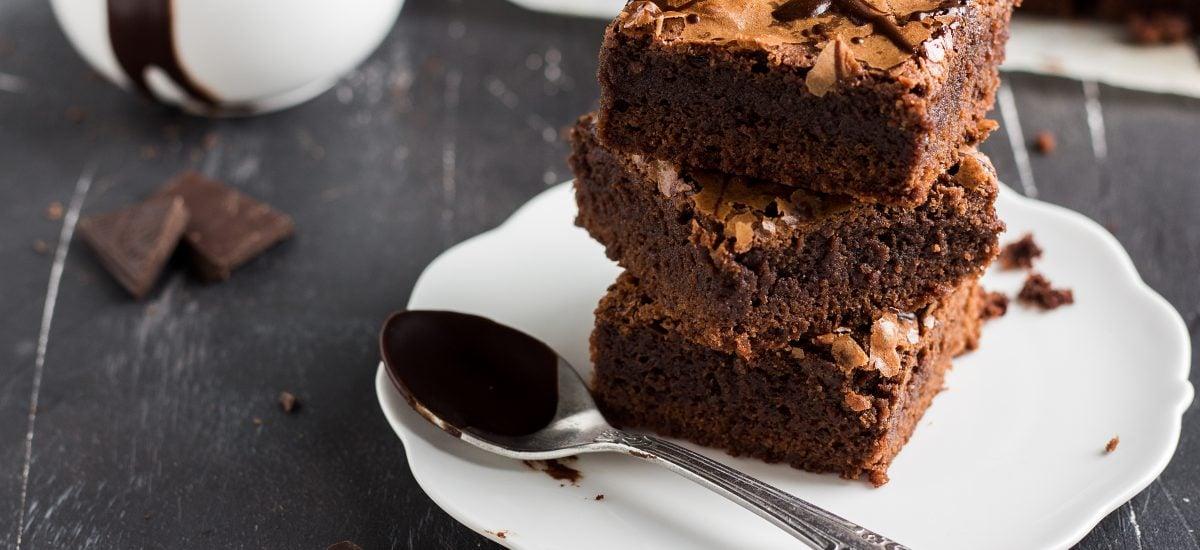 Cuketové brownies sú na nerozoznanie od originálu
