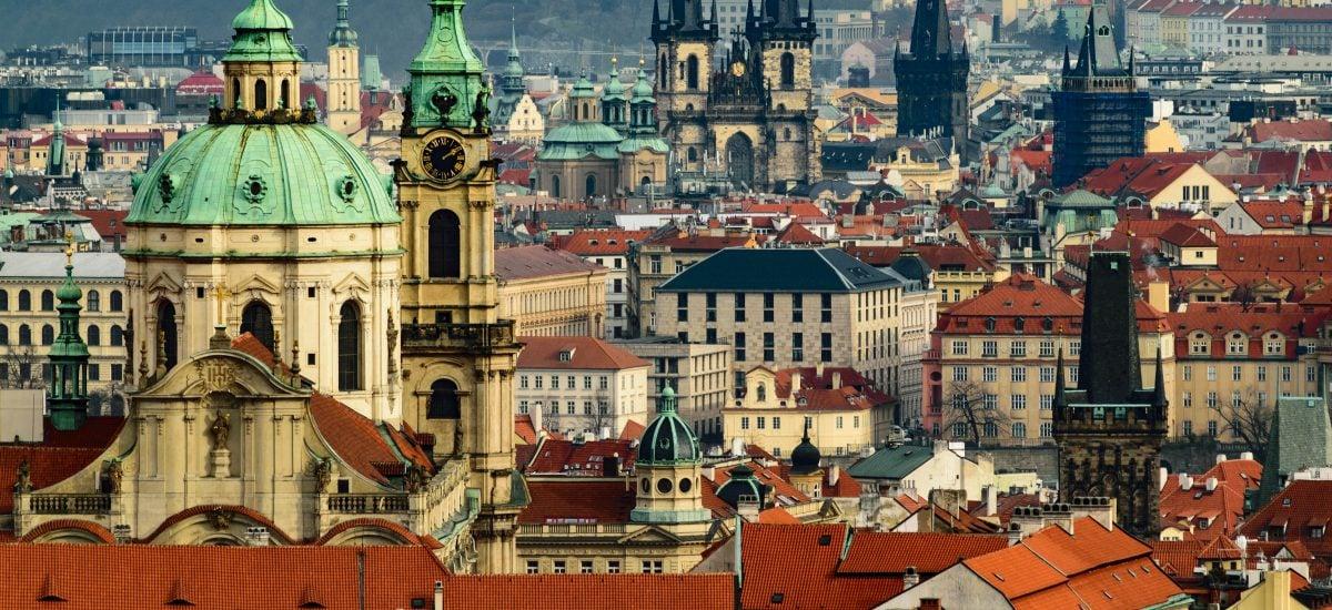 Praha ponúka mnohé skvelé výhľady