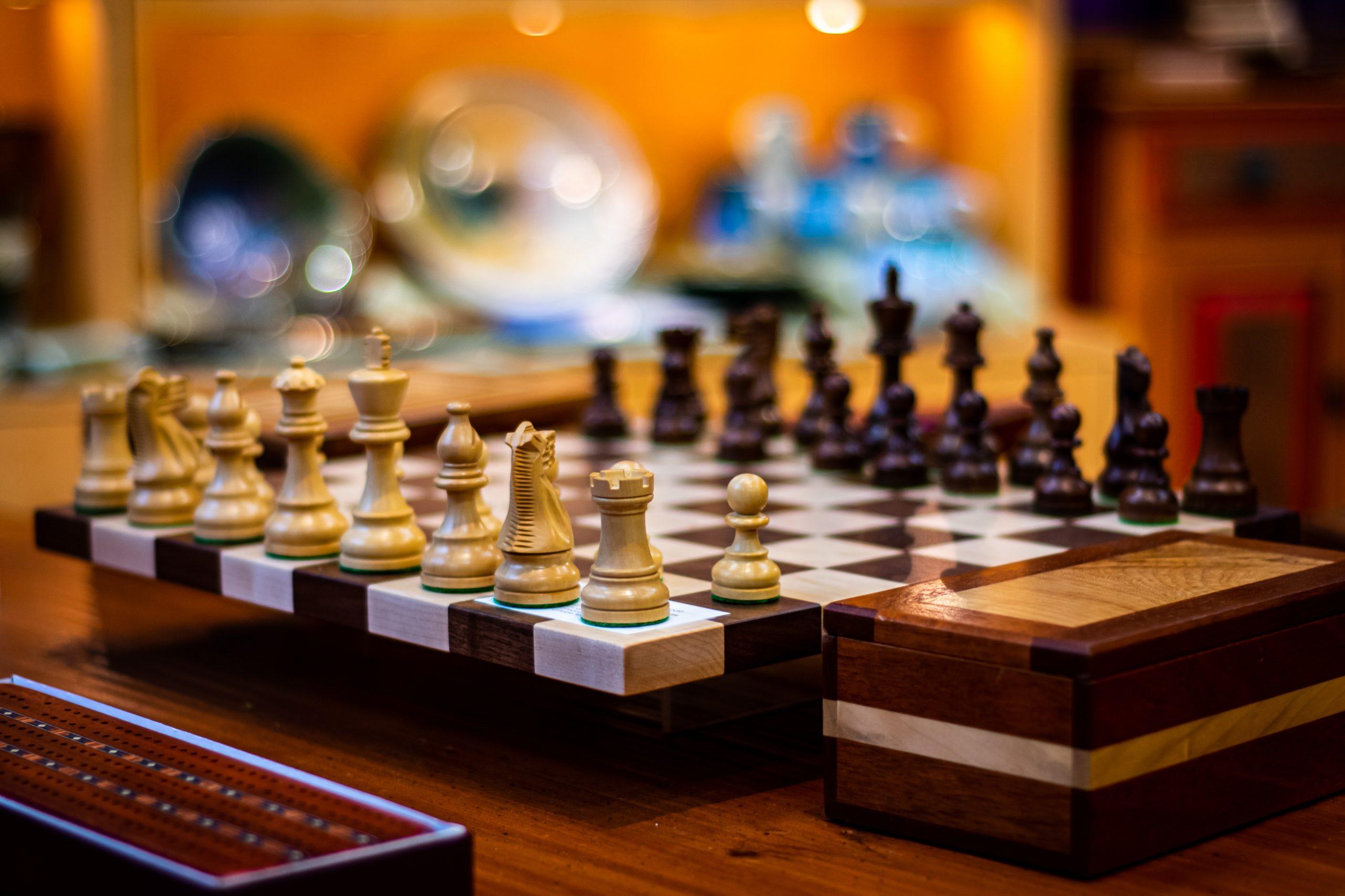 Popularita šachu je momentálne na vzostupe