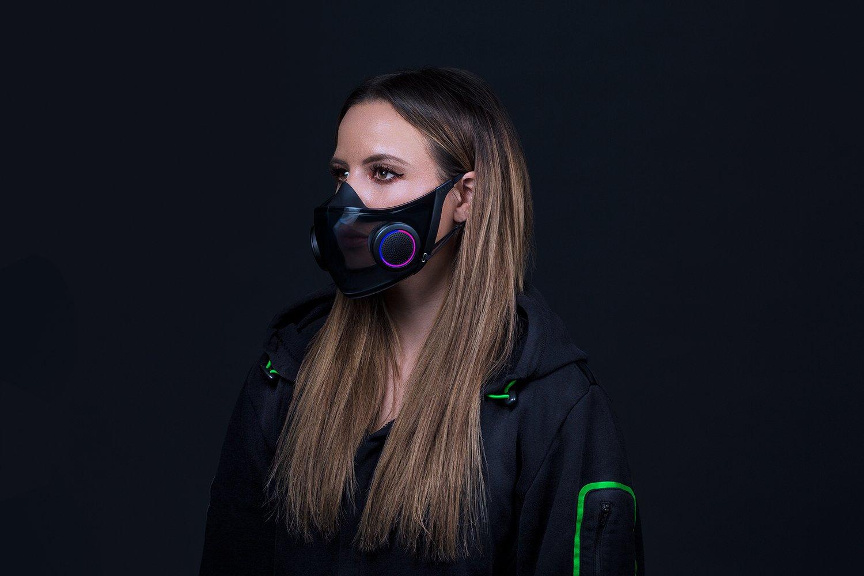 Razer predstavil respirátor Project Hazel