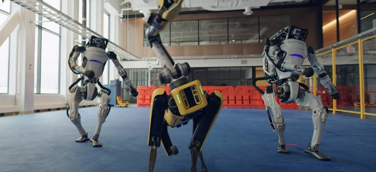 Roboty od Boston Dynamics.