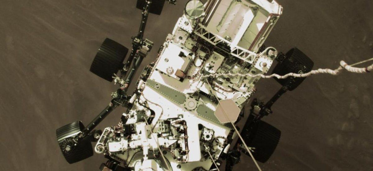 NASA zverejnila fotky z Marsu.