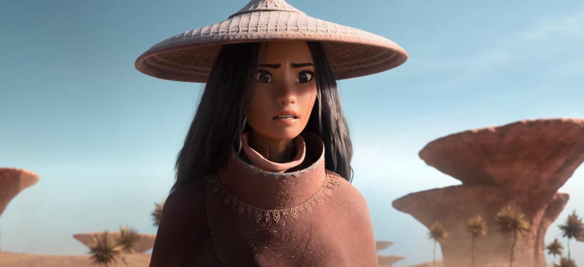 Záber z filmu Raya a posledný drak.