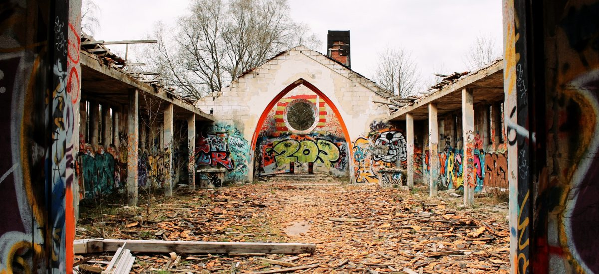 Opustené miesta ukrývajú mnohé tajomstvá