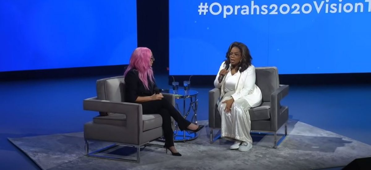Oprah Winfreyová v interview s Lady Gagou.