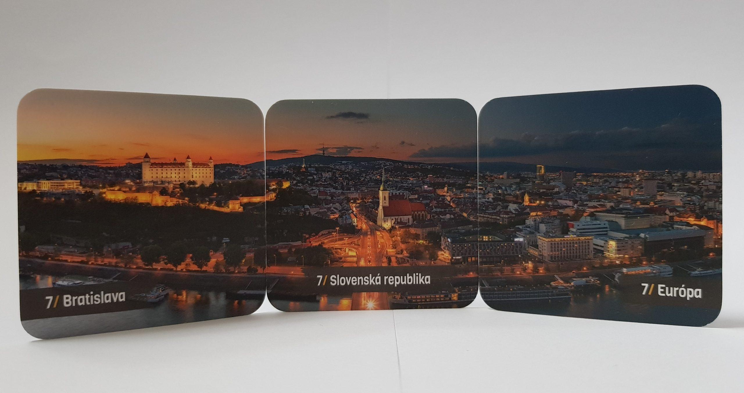Panorámu Bratislavy nájdeš vo verzii svetových metropol