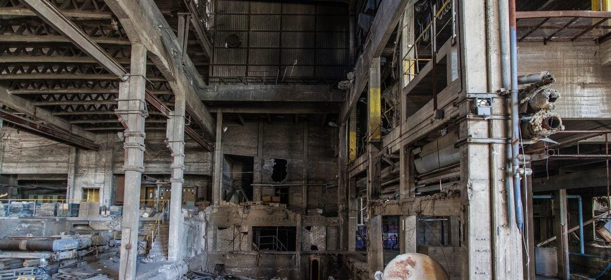 Opustená elektráreň