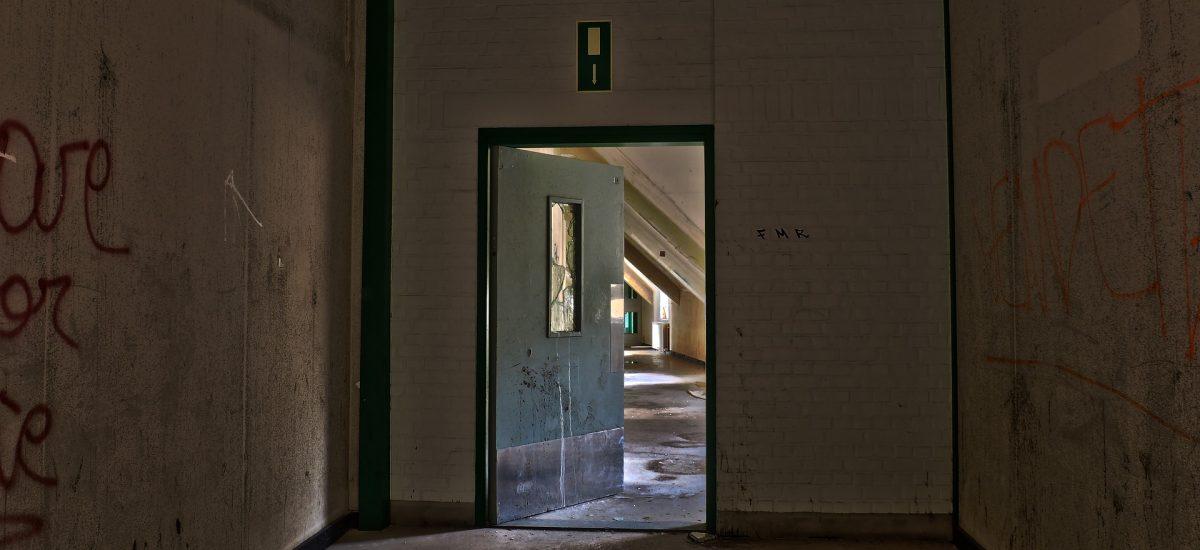 Opustená nemocnica